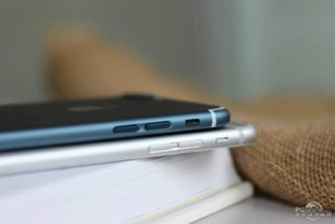 Apple iPhone 7 Plus blauw knoppen