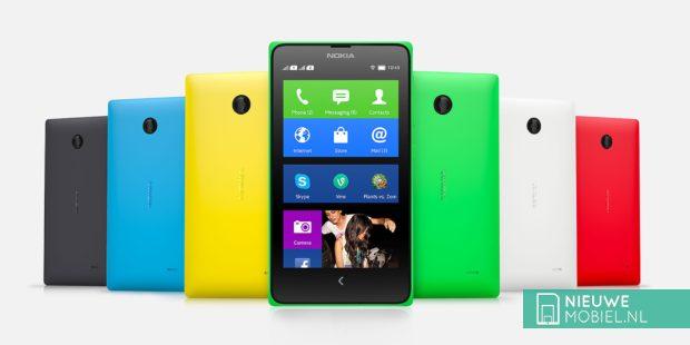 Nokia X met Android