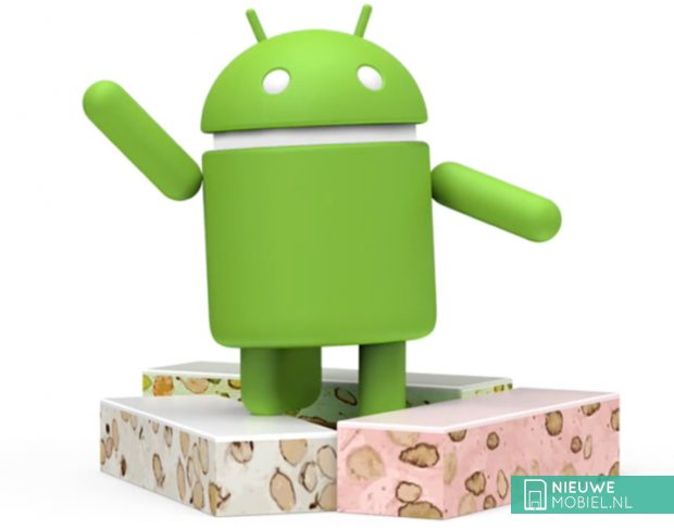 Android 7.0 Nougat mascotte