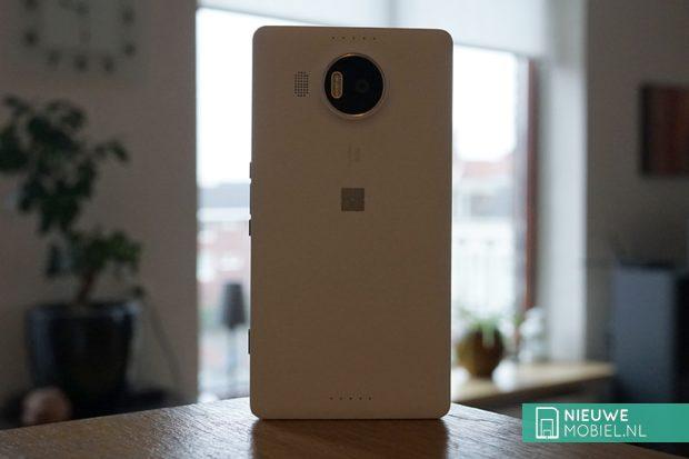 Microsoft Lumia 950 XL achterzijde