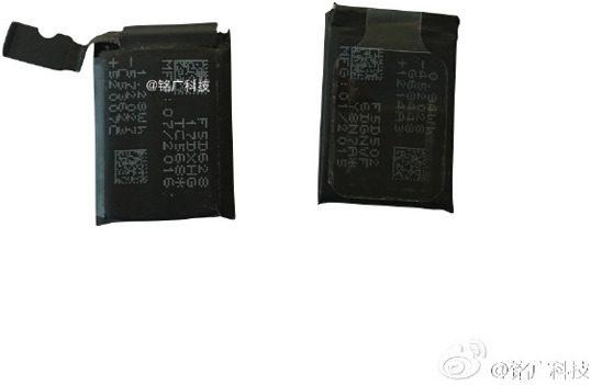 Apple Watch 2 batterij