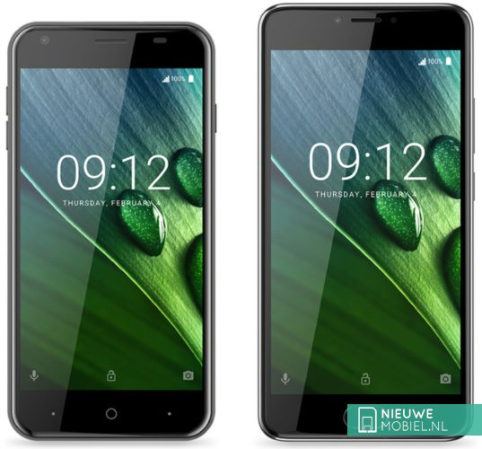 Acer Liquid Z6 en Z6 Plus in het zwart