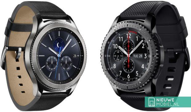 Samsung Gear S3 classic en S3 frontier