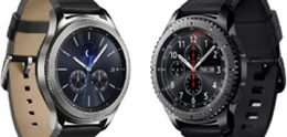 Samsung brengt waterdichte Gear S3 classic en S3 frontier uit