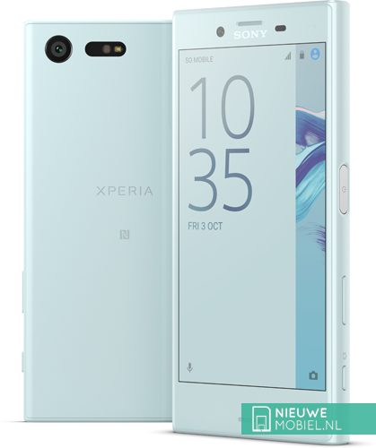 Sony Xperia X Compact lichtblauw
