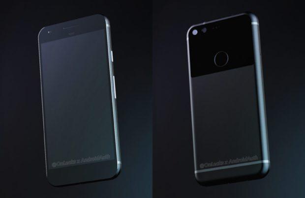 Google Pixel Sailfish render