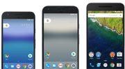 Zo ziet de Google Pixel XL er naast de Pixel en Nexus 6P uit