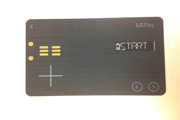 LG Pay White Card betaalpas