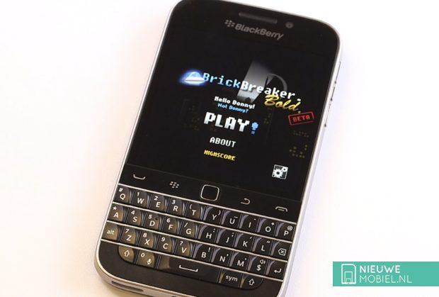 BlackBerry Classic met QWERTY-toetsenbord