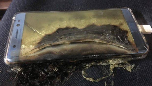 Samsung Galaxy Note 7 ontploft