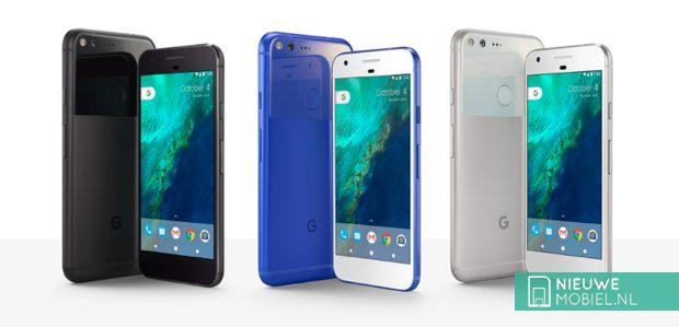 Google Pixel en Pixel XL kleurenschema