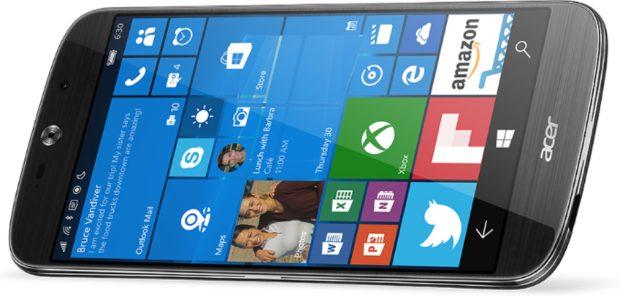 Acer Liquid Jade Primo met Windows 10