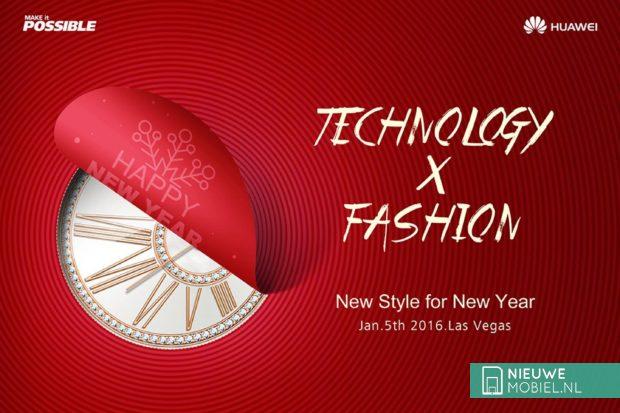 Huawei CES teaser smartwatch