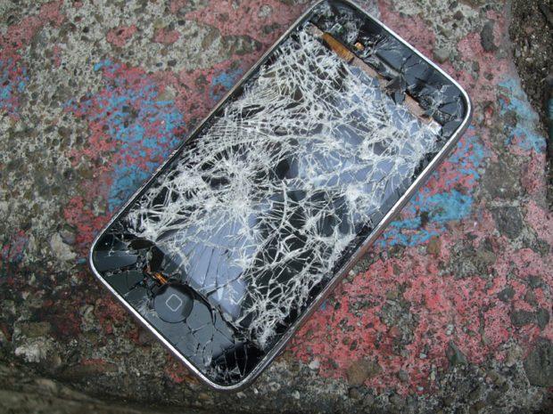 iPhone stuk