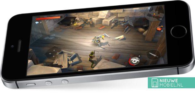 Gaming op de iPhone SE