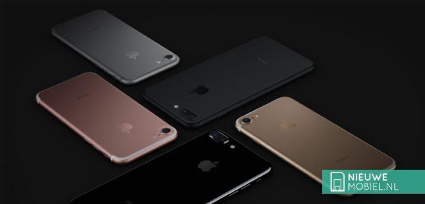 Apple iPhone 7 kleuren