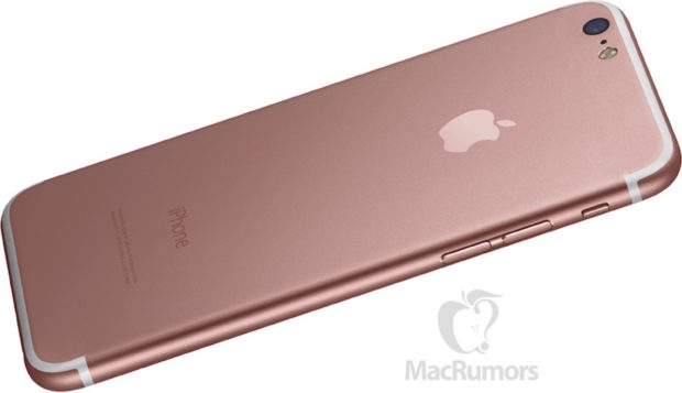 Apple iPhone 7 render