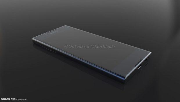 Sony Xperia XA 2 render