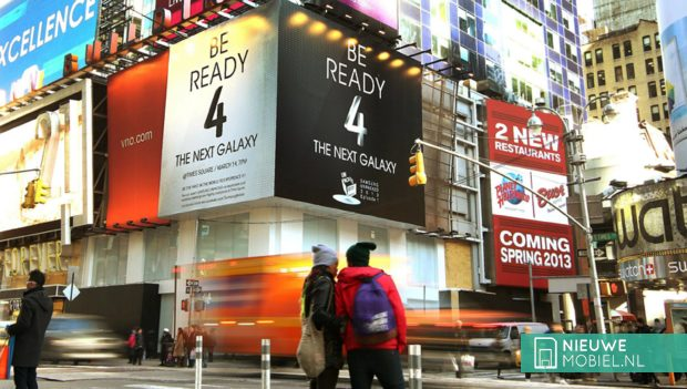 Samsung op Times Square