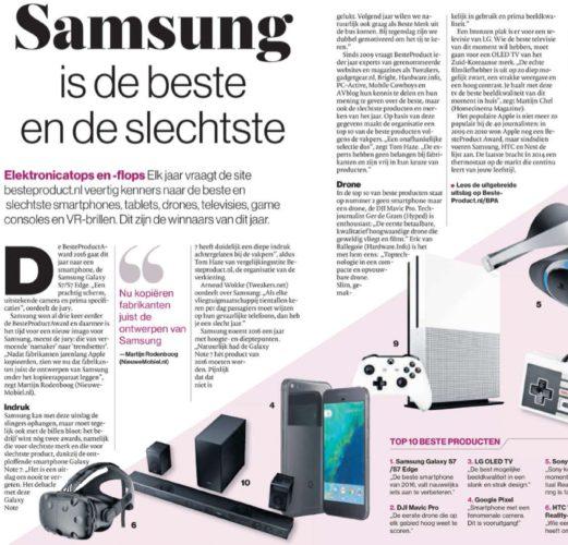 Artikel NieuweMobiel.NL de Persgroep