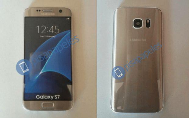 Samsung Galaxy S7 edge dummy in het goud