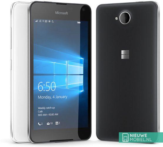 Microsoft Lumia 650 uitvoeringen