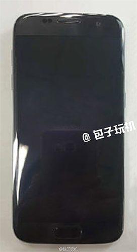 Samsung Galaxy S7 edge zwart scherm uit