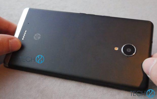 HP Elite X3 achterzijde