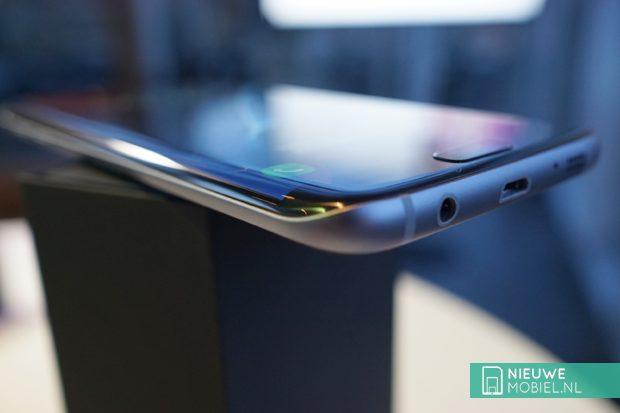 Samsung Galaxy S7 edge rondingen