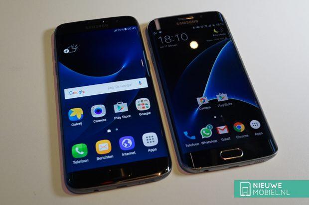 Samsung Galaxy S7 edge vergeleken met de S6 edge