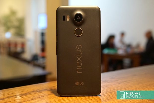 Google Nexus 5X backend