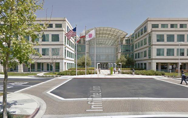 Apple hoofdkantoor in Cupertino
