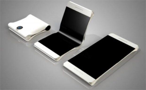 Samsung vouwbare telefoon
