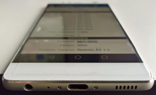 Huawei P9 onderkant USB Type-C