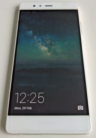 Huawei P9 wit voorkant