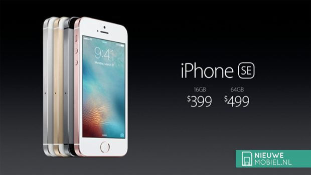 Apple iPhone SE prijs