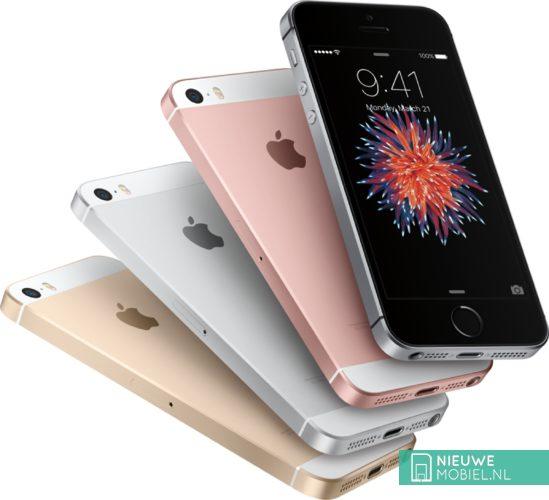 Apple iPhone SE kleuren