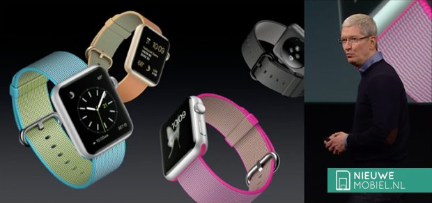 Apple Watch geweven nylon bandje