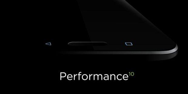 Zwarte HTC 10