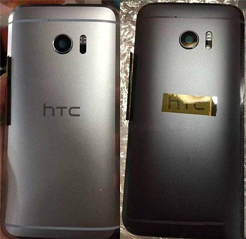 HTC 10 in het zilver en zwart
