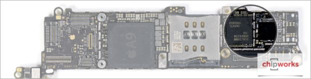 Apple iPhone SE 4G chip