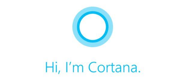 Hi I'm Cortana