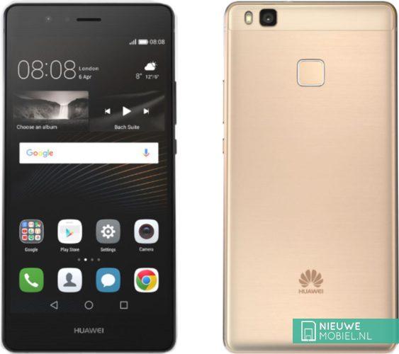 Huawei P9 Lite zilver- en goudkleurig