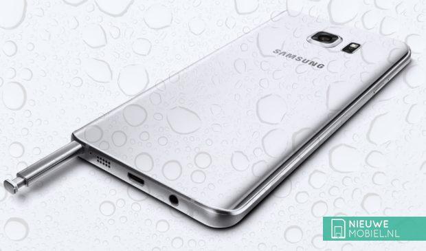 Samsung Galaxy Note 5 waterdruppels