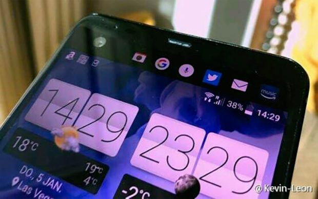 HTC U Ultra met secundair scherm