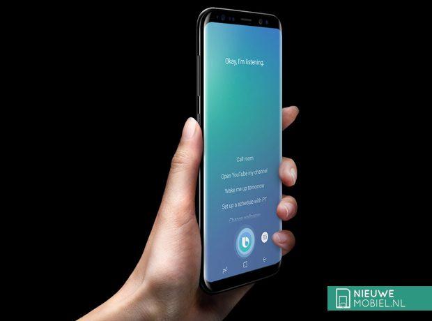 Samsung Bixby op Galaxy S8