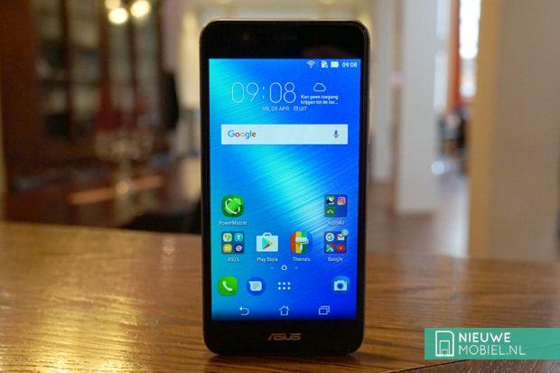 Asus Zenfone 3 Max ZC520TL voorkant