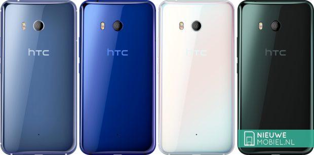 HTC U11 kleuren
