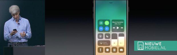 iOS11 Control Panel