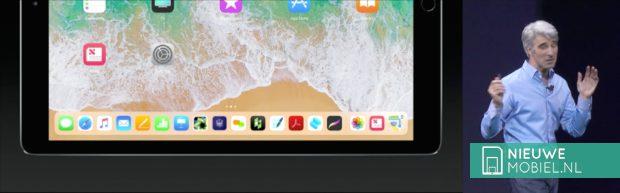 iOS11 dock